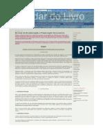 Normas de Encadernação e Preservação Documentos