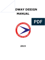 2015 Roadway Design Manual