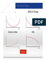 Waterfall or Plan-Driven Projects vs Agile or Change-Driven Projects