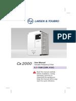 Cx 2000 Manual