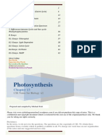 CIE A2 Biology Photosynthesis (Cambridge a-level) 2017-18