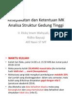 Kesepakatan Dan Ketentuan MK ASGT