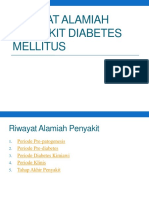 Riwayat Alamiah Penyakit Diabetes Mellitus