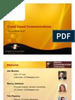 UCS Cloud-Based Communications