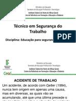 Apresentação - Curso Técnico em Segurança do Trabalho.pptx