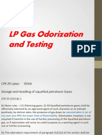 8 Burnell, LP Gas Odorization Testing