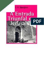 A Entrada Triunfal Em Jerusalem