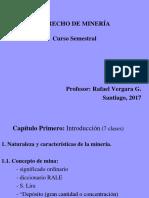 U CHILE Clases Derecho de Miner a 2017 Ppt