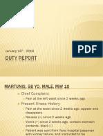 Duty Report Eka Putra 1