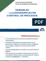2 Clases Variables Termodinamicas en Control de Procesos