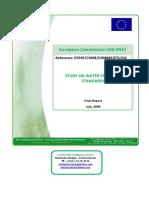 Handbook - Water Efficiency Standards Study 2009