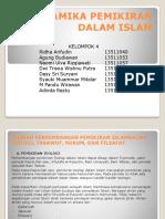 Ppt Dinamika Pemikiran Dalam Islam