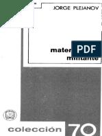 Plejánov - Materialismo militante.pdf
