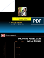La Oferta Agregada - Dr. fredy carranza villa - Economista