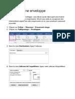 Imprimer Une Enveloppe