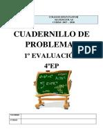 Problemas 4ep Primer Trimestre 2017-18