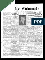 The Colonnade - April 6, 1931