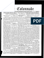 The Colonnade - October 18, 1932