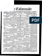 The Colonnade - November 29, 1932