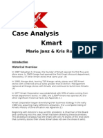 Kmart Case Analysis