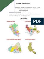 Informe Topografico Agua Potable Caserio Chinac y Sus Anexos 1