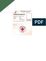 Carte de Service CK