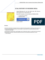 9788126104086 Economic of Social History of Modern India