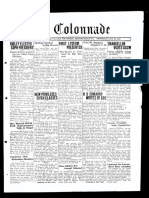 The Colonnade - October 25, 1933