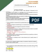 EVALUACIÓN 2.1 S 1 P6 17 - 18 -CORRECCIÓN