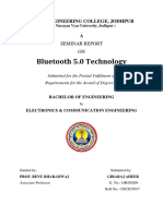 Seminar Final Report Bluetooth 5.0