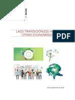 2016 09 Las Transiciónes Hacia Otras Economías