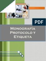 Monografía Protocolo y Etiqueta