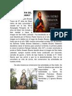 Breve Historia Del Señor San Isidro