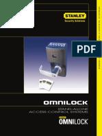 Stanley OMNILOCK Non-Wireless Catalog