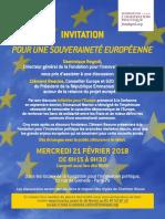 Invitation Débat Avec Mr. Clément Beaune - Conseiller Europe Du Président Emmanuel Macron