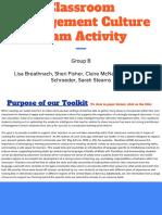 classroommanagementcultureteamact groupb 11