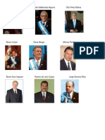 15 Presidentes de Guatemala