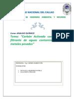 Análisis Carbon Activado Final