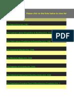 Statutory Compliances Checklist on Various Labour Laws