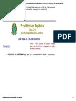 Lei Nº 12305_2010 - _Institui a Política Nacional de Resíduos Sólidos; Altera a Lei No 9.605, De 12 de Fevereiro de 1998; e Dá Outras Providências.