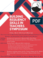 teacher resiliency symposium flyer  3