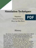 Simulation Techniquesfinal