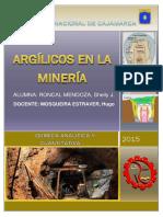 Argílicos en La Minería