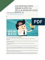 17 GATILHOS MENTAIS PARA VOCÊ DOMINAR A ARTE DA PERSUASÃO E ALAVANCAR SUAS VENDAS.docx