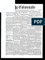 The Colonnade - May 1, 1934