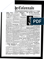 The Colonnade - November 19, 1934