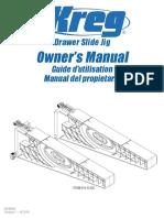 Drawer Slide Jig Manual