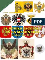 Águila Bicefala en Masonería.
