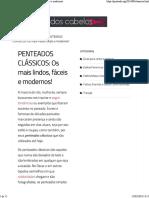 PENTEADOS CLÁSSICOS_ Os Mais Lindos, Fáceis e Modernos!