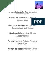 Universidad Popular de La Chontalpa- Recuperacion de Yacimientos
